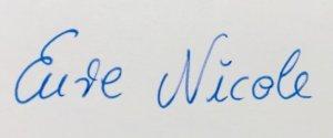 Ahrensburg Blog Signatur Nicole