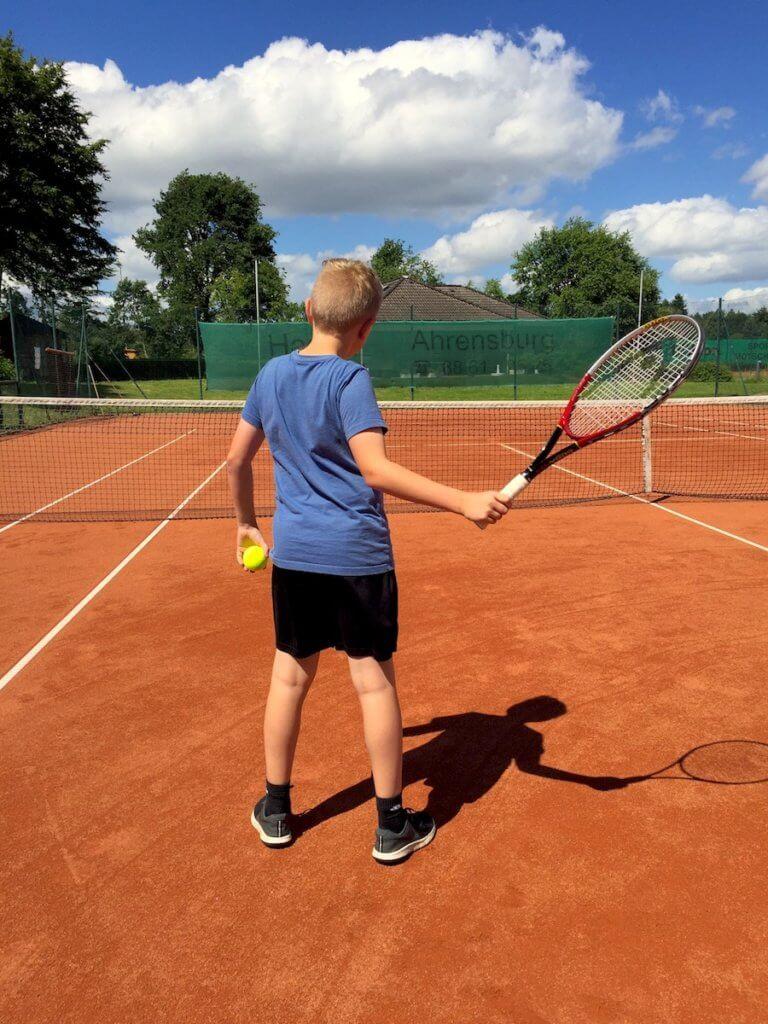 Tennis beim SSC Hagen in Ahrensburg – Foto: Nicole Stroschein