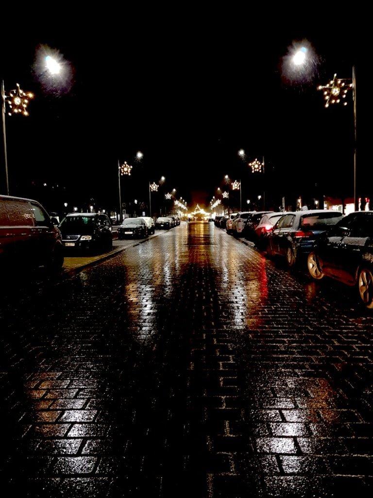 Die Große Straße in Ahrensburg im Advent – Foto: Nicole Stroschein
