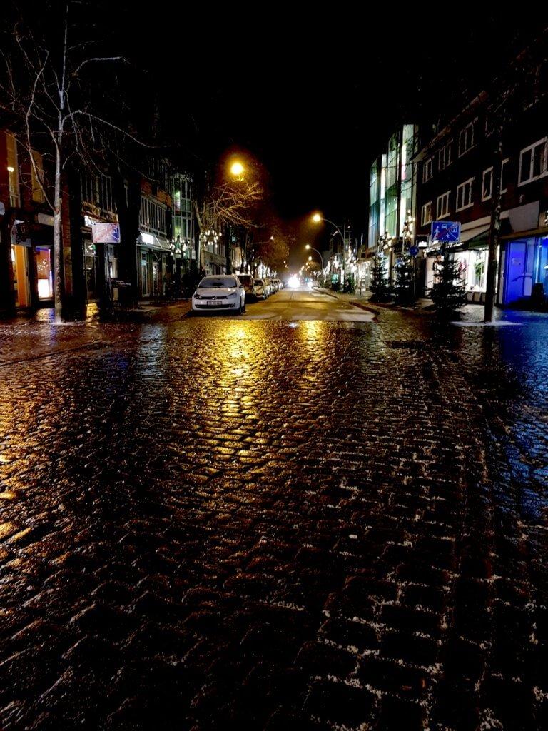 Hamburger Straße in Ahrensburg im Advent – Foto: Nicole Stroschein