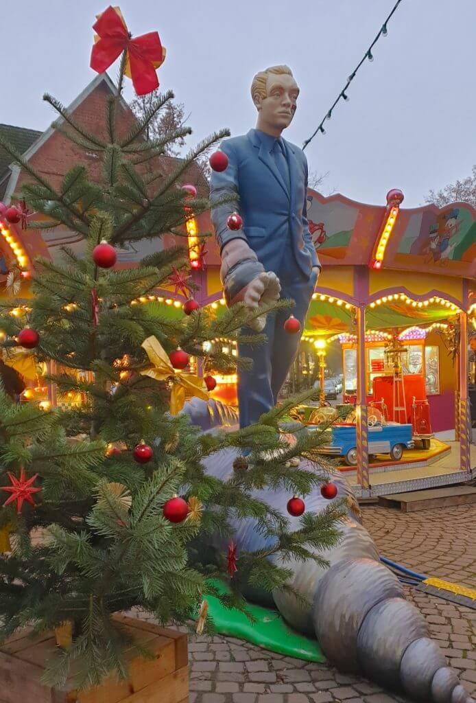 Der Muschelläufer im Advent – Foto: Nicole Stroschein
