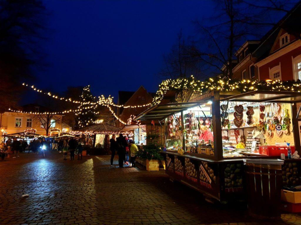 Weihnachtsmarkt, Ahrensburg, Rondeel – Foto: Nicole Stroschein