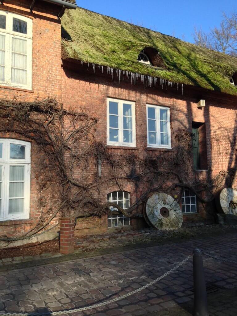 Eiszapfen an der alten Mühle – Foto: Mia