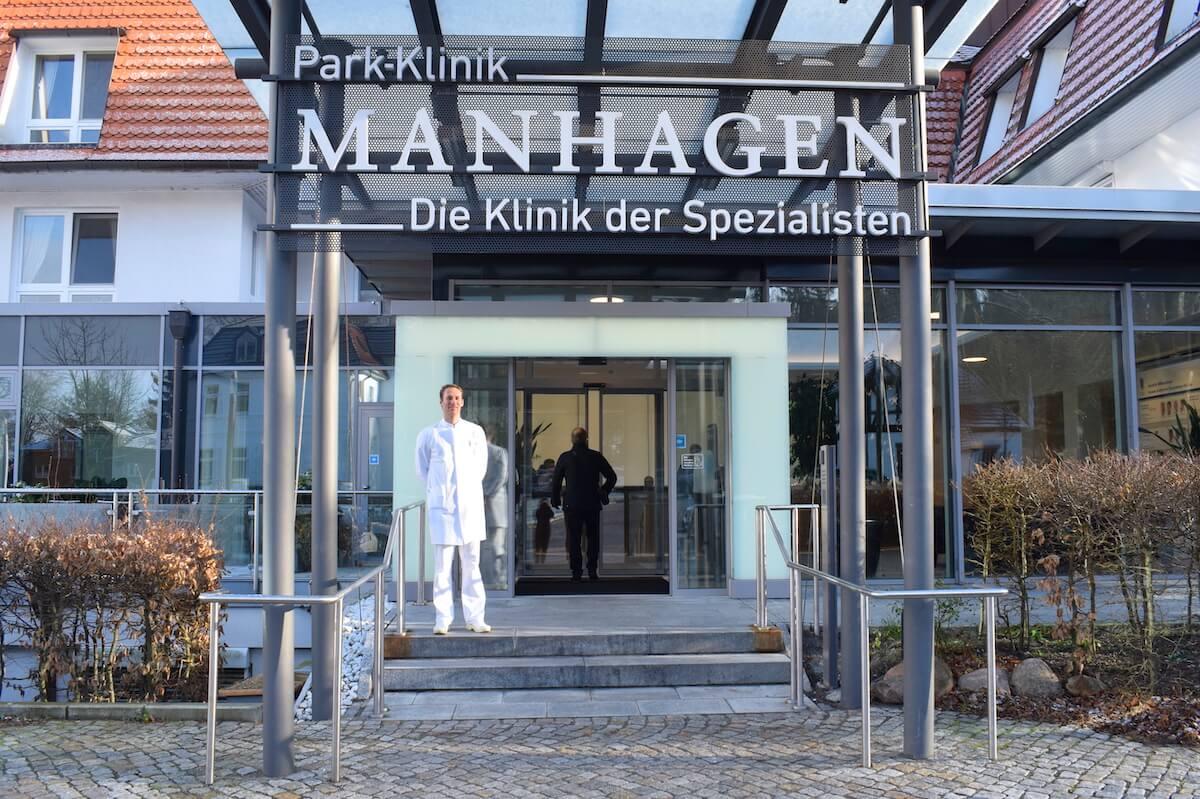 Exklusiv: Im OP der Park-Klinik Manhagen