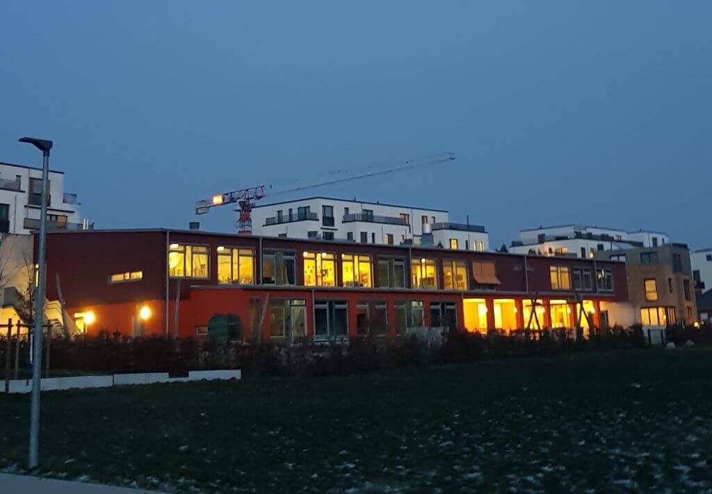 Der Kindergarten im Wohngebiet Erlenhof, Ahrensburg – Foto: Nicole Stroschein