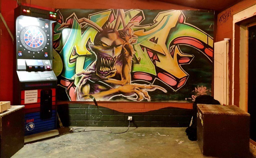 Im Jugend- und Kulturzentrum Juki 42 in Ahrensburg – Foto: Nicole Stroschein