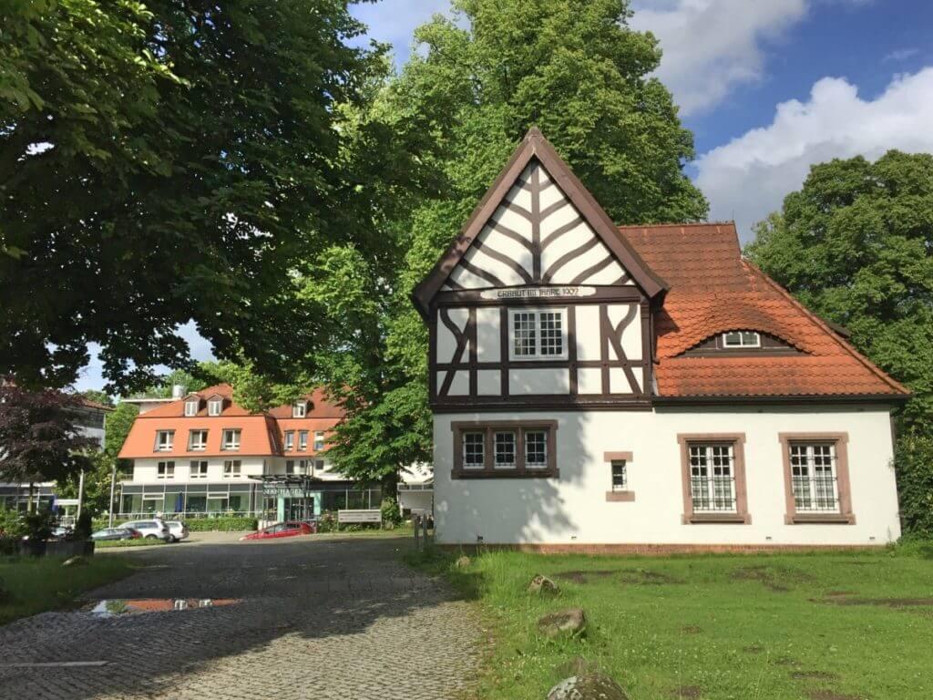 Die Park-Klinik-Manhagen in Großhansdorf – Foto: Nicole Stroschein