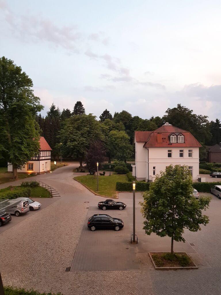 Ausblick aus der Park-Klinik Manhagen – Foto: Nicole Stroschein