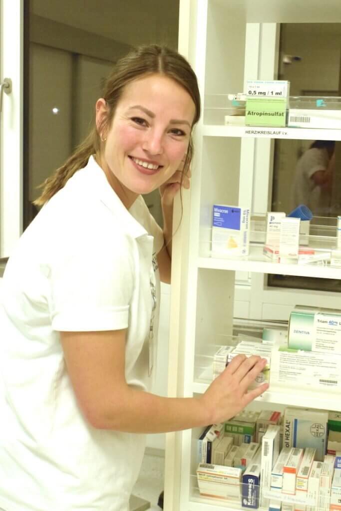 Schwester Julia aus der Unfallambulanz der Park-Klinik – Foto: Nicole Stroschein