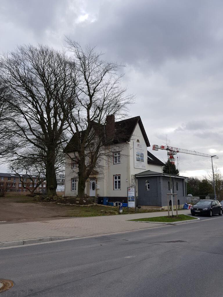 Der Pomonaring im Wohngebiet Erlenhof, Ahrensburg – Foto: Nicole Stroschein