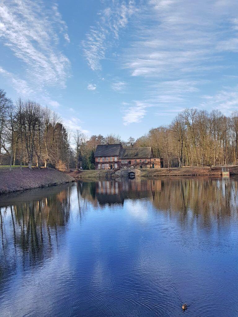 Die alte Mühle am Mühlenredder in Ahrensburg – Foto: Nicole Stroschein
