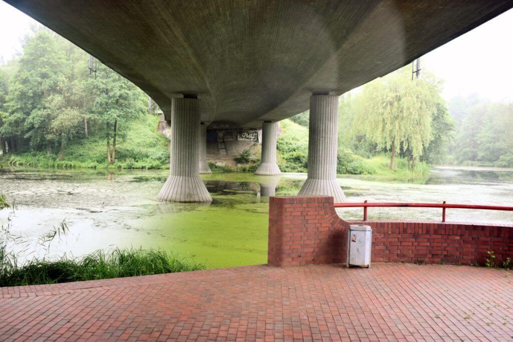 Unter der Brücke des Ostring, am Aalfang Ahrensburg – Foto: NIcole Stroschein