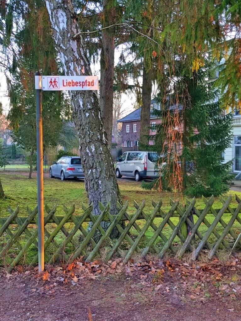 Liebespfad, Ahrensburg – Foto: Nicole Stroschein
