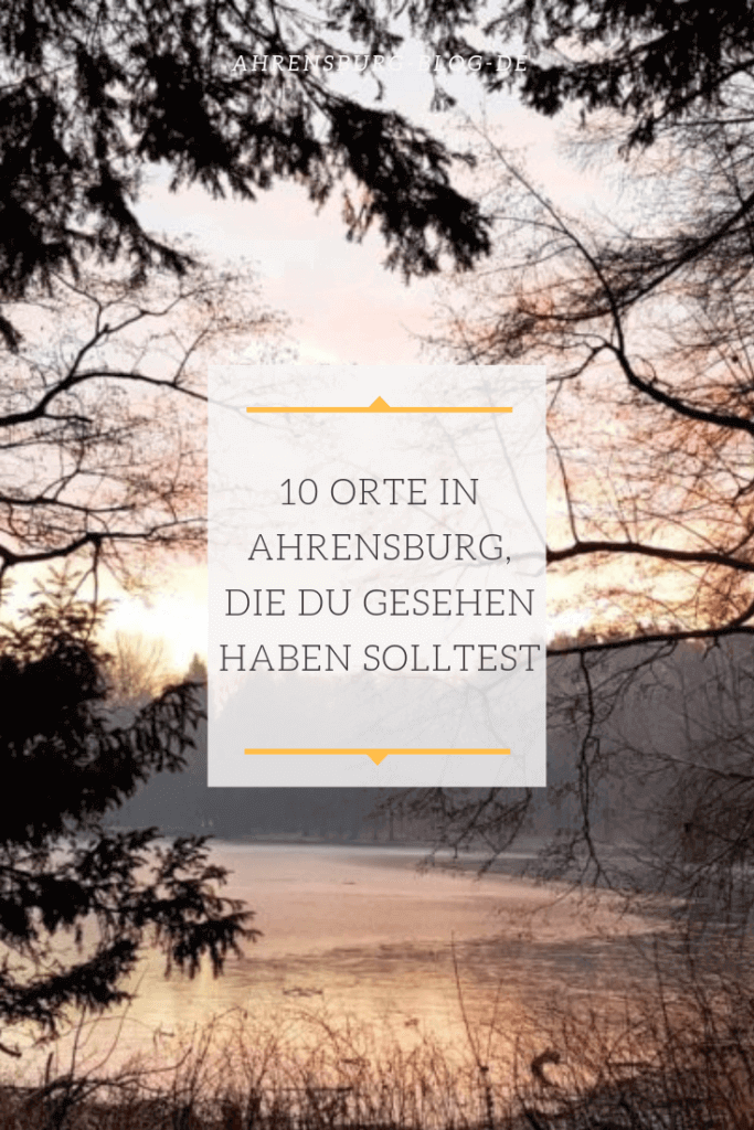 10 Orte in Ahrensburg, die du gesehen haben solltest –Foto: Nicole Stroschein