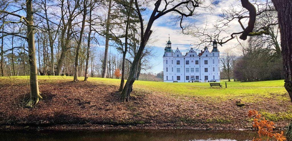 Schloss Ahrensburg, Ende Februar 2019 – Foto: Nicole Stroschein