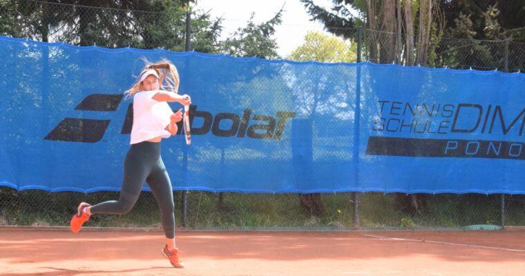 Talent und Schläger in die Wiege gelegt: Tennis-Ass Lisa Ponomar