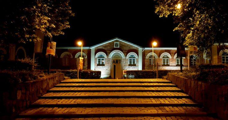 Ahrensburg bei Nacht