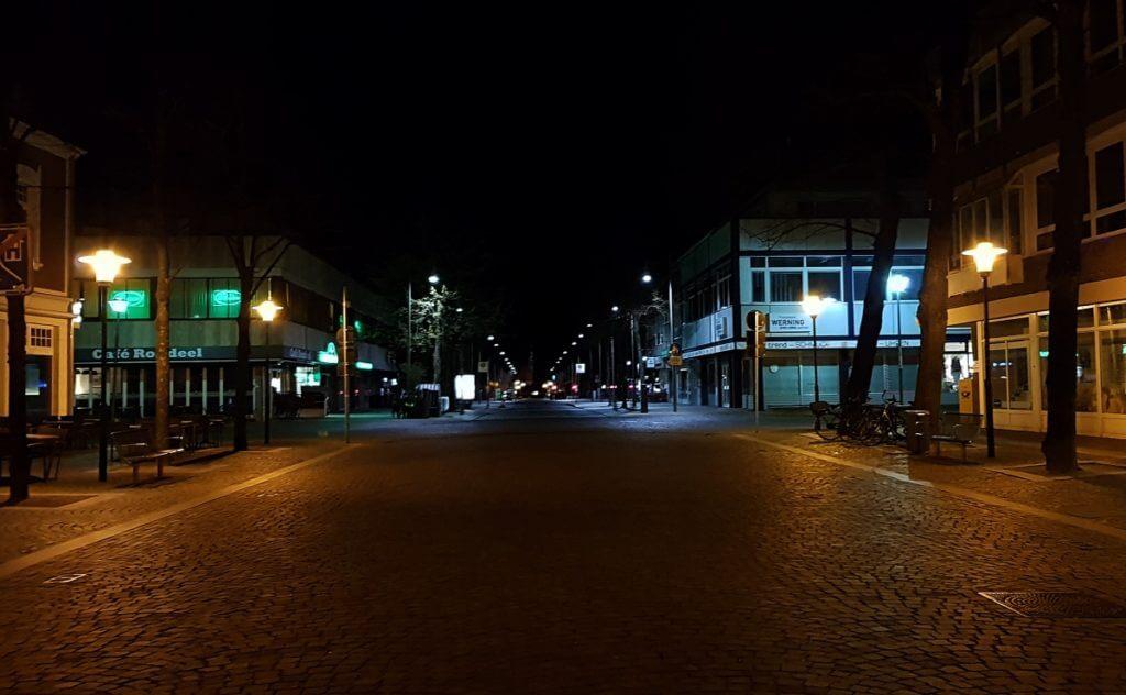 Blick vom Rondeel in die große Straße – Foto: Nicole Stroschein