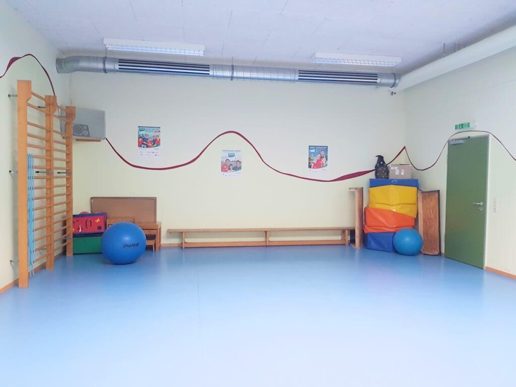 Sportraum der Stormarner Werkstätten in Ahrensburg – Foto: Nicole Stroschein
