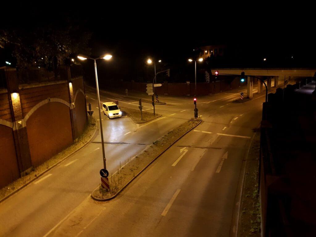 Der Tunnel bei Nacht –Foto: Nicole Stroschein