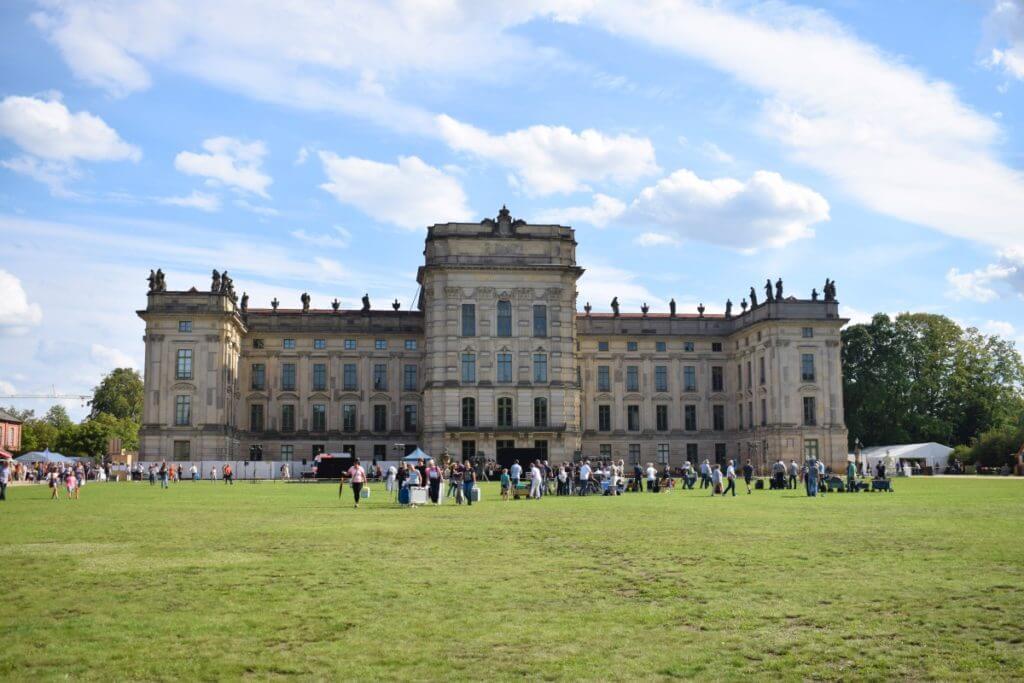 Das kleine Fest im großen Park des Schlosses von Ludwigslust – Foto: Nicole Stroschein