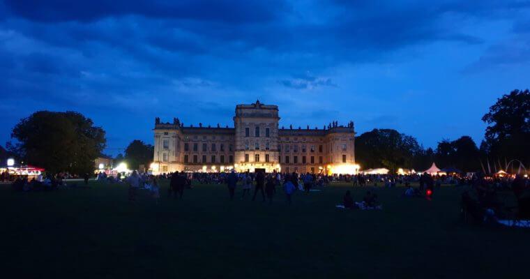 Das kleine Fest im großen Park von Ahrensburgs Partnerstadt Ludwigslust