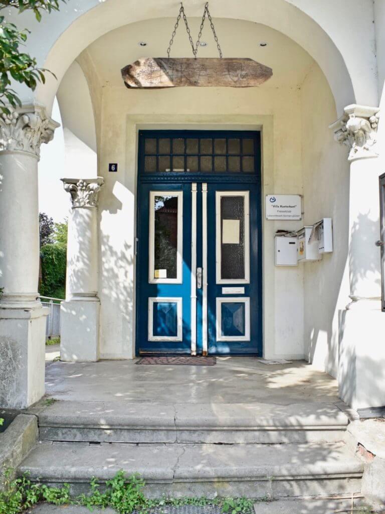 Die Villa Kunterbunt, Sitz der Pfadfinder –Foto: Nicole Stroschein