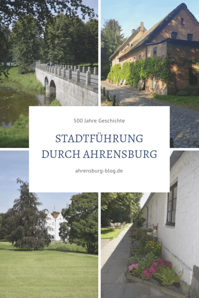 Stadtführung durch Ahrensburg – Foto: Nicole Stroschein