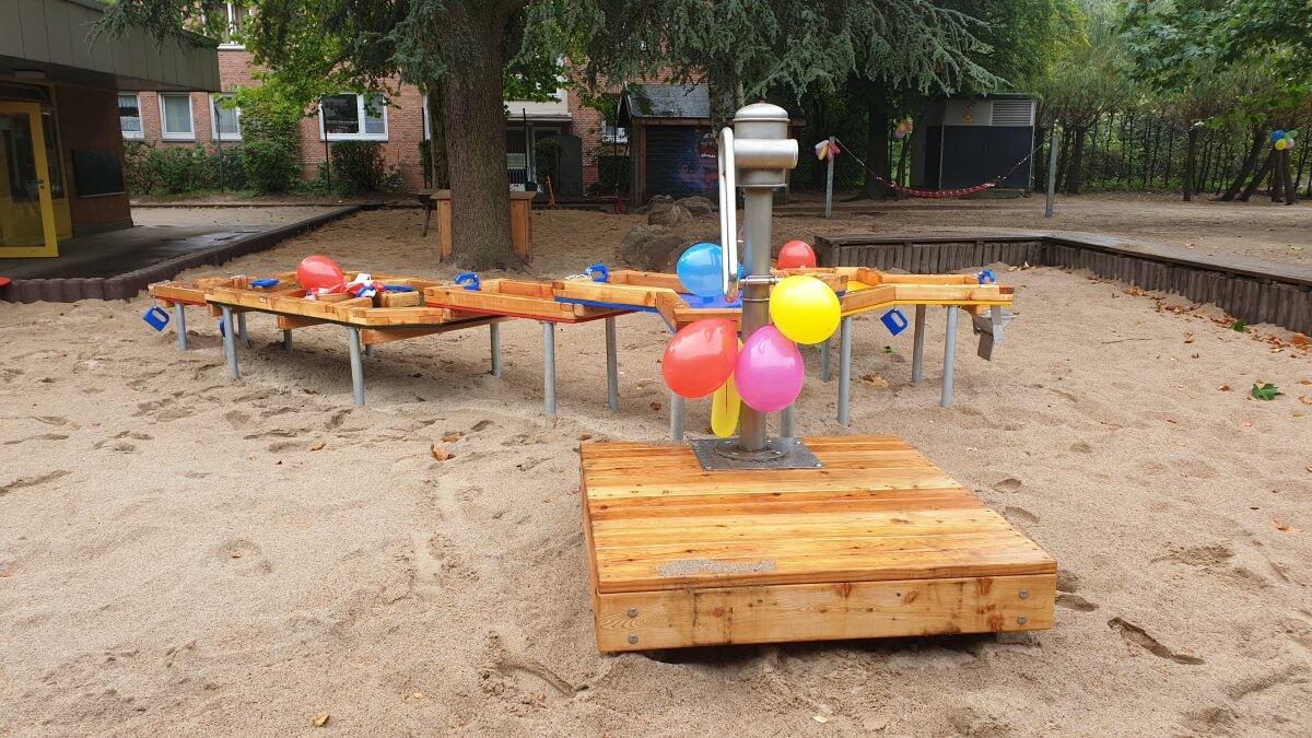 Ein neuer Spielplatz für die Kita Schäferweg