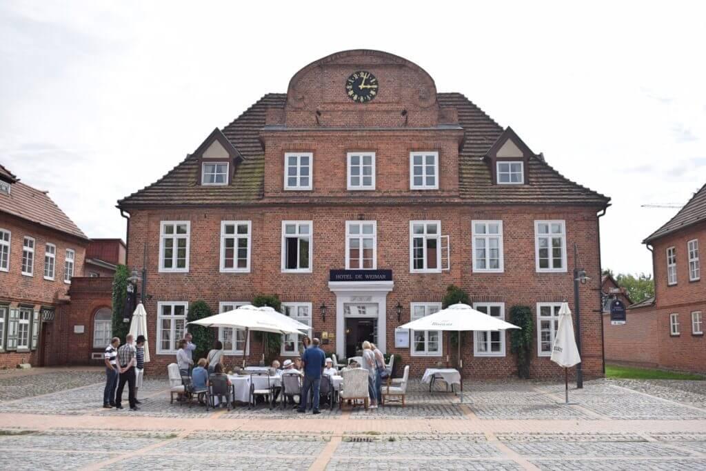 Hotel de Weimar an der Schlossstraße – Foto: Nicole Stroschein