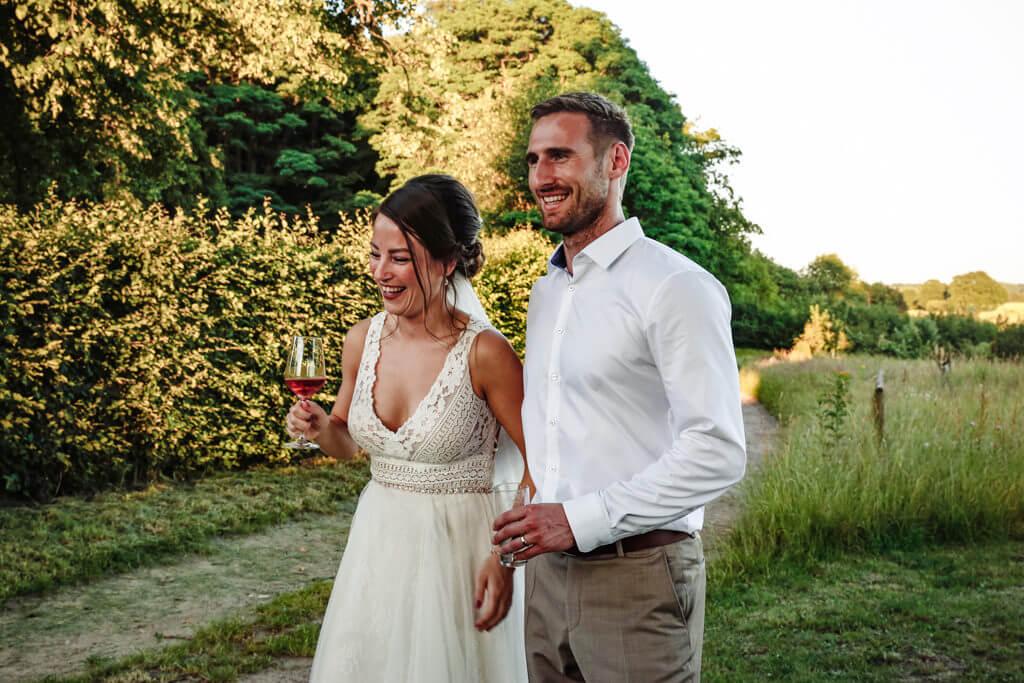 Das Brautpaar – Foto: Madeleine Krüger