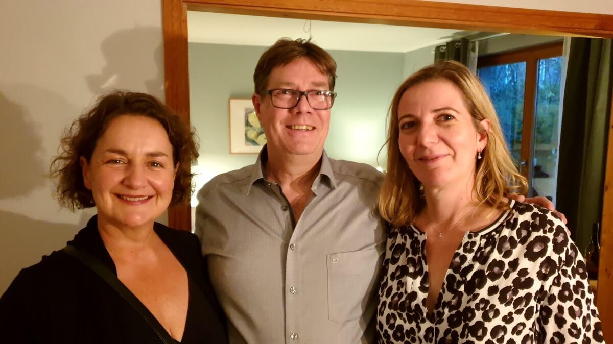 Rudi rockt – So lief Ahrensburgs erstes Running Dinner
