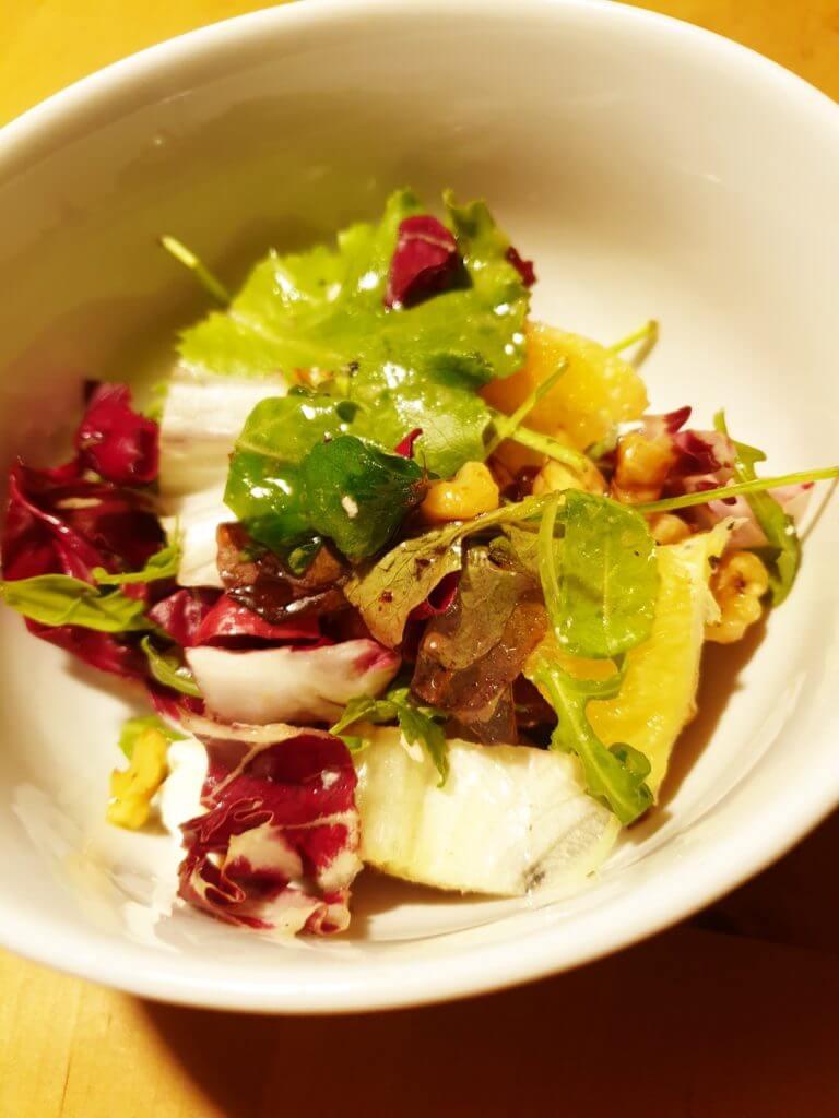 Running Dinner, Salat – Foto: Nicole Stroschein