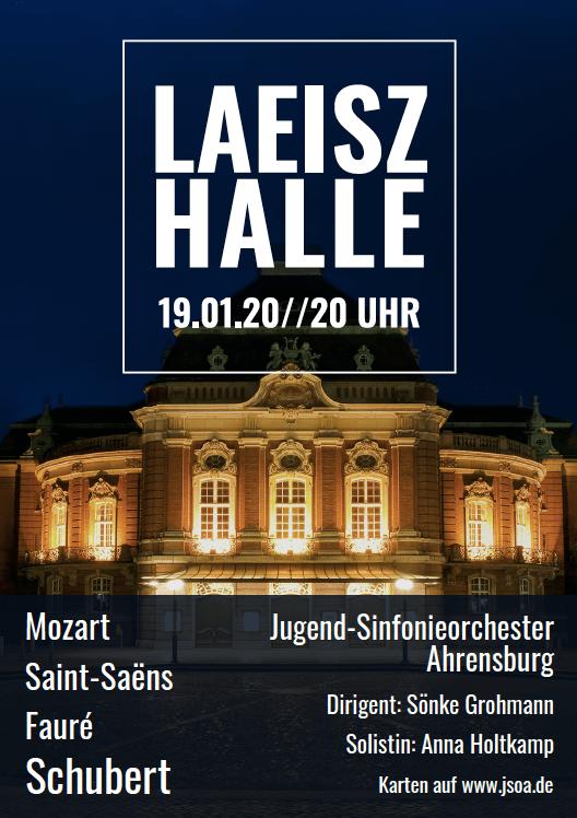 Jugend-Sinfonieorchester Ahrensburg Laeiszhalle Hamburg