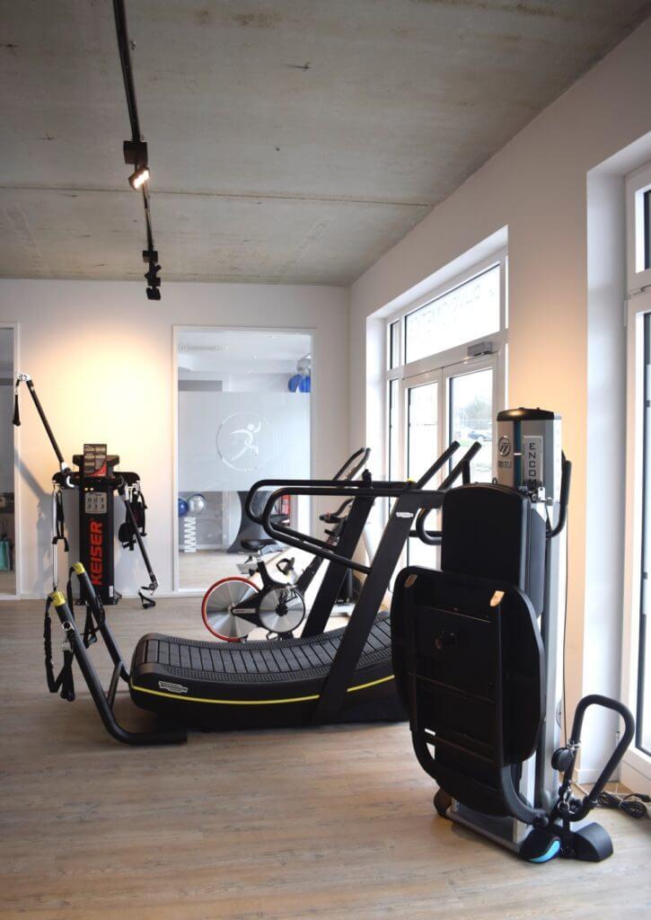 Der Trainingsraum – Foto: Nicole Stroschein