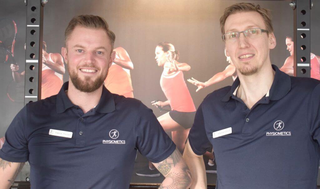 Physiometics: Paddy (l.) und Stephan – Foto: Nicole Stroschein