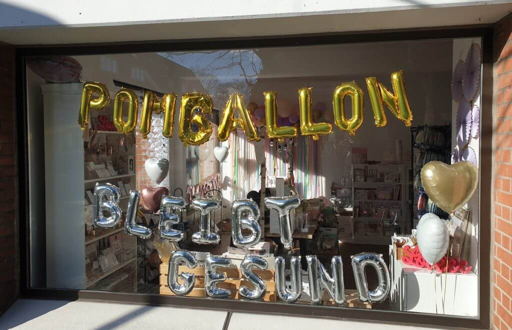Support your locals, Pomballon, Ahrensburg – Foto: Nicole Stroschein