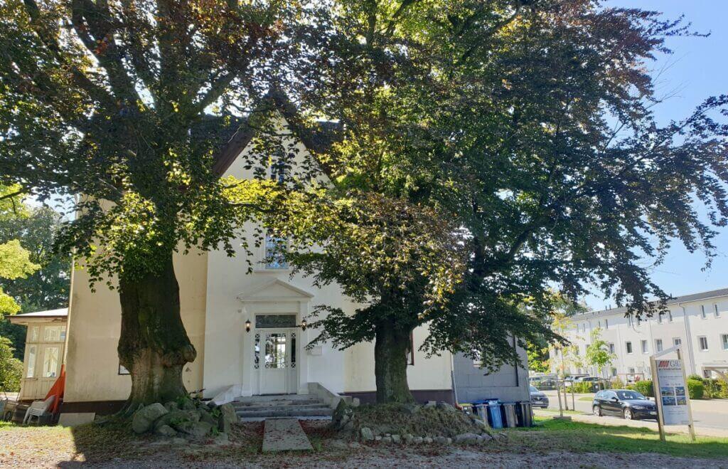 Die Villa Pomona im Wohngebiet Erlenhof –Foto: Nicole Schmidt