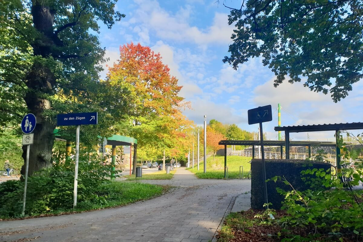 Bahnhof Gartenholz, Ahrensburg – Foto: Nicole Schmidt