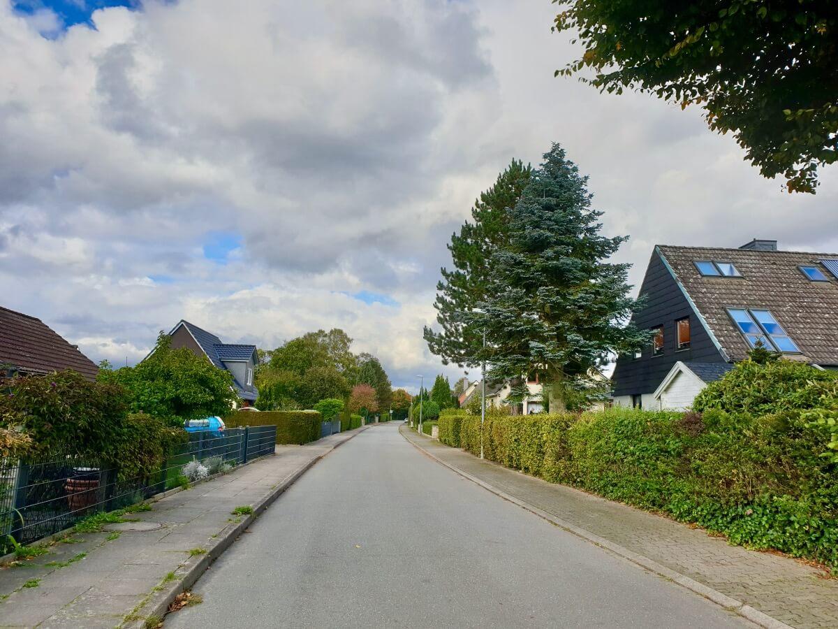 Der Brombeerweg in Ahrensburg – Foto: Nicole Schmidt