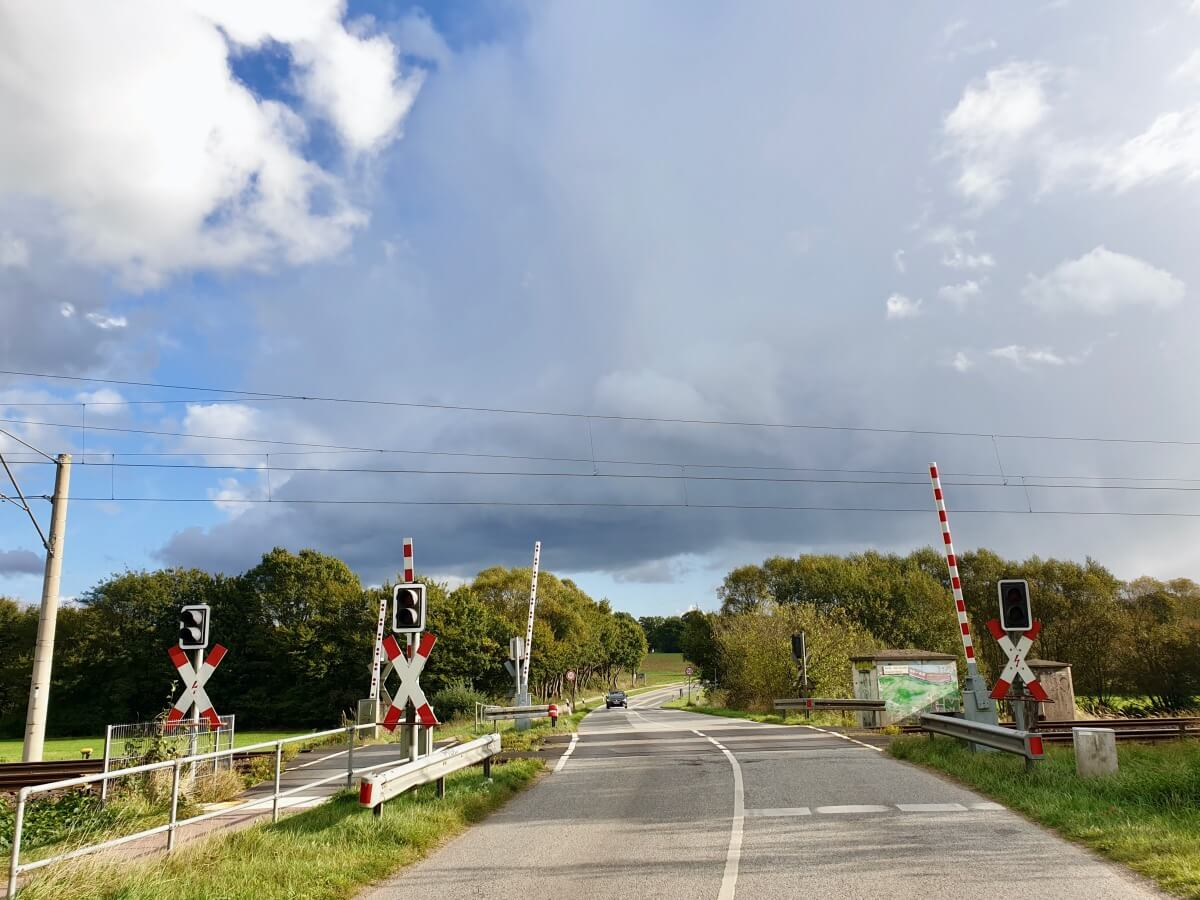 Der Bahnübergang Brauner Hirsch – Foto: Nicole Schmidt