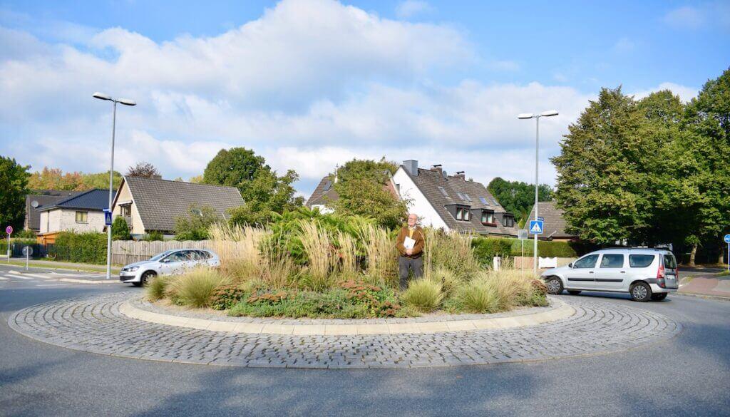 Eckehard Knoll, Kreisverkehr Ahrensburg