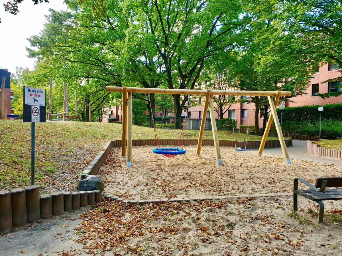 Spielplatz am Helgolandring, Ahrensburg Gartenholz – Foto: Nicole Schmidt