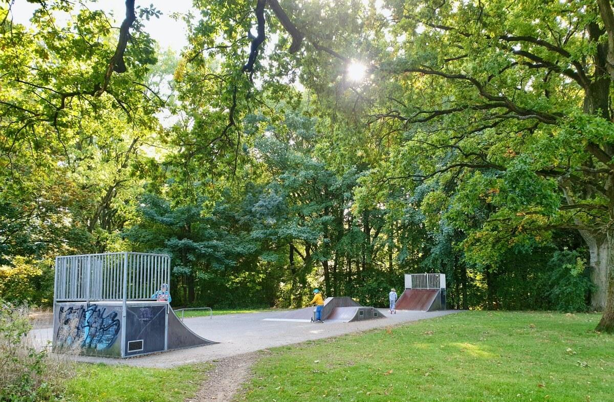 Skatepark, Gartenholz – Foto: Nicole Schmidt