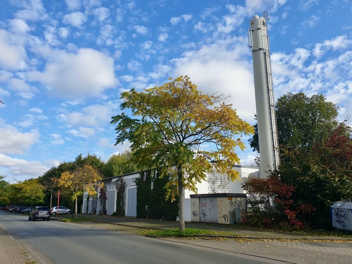 Heizkraftwerk, Gartenholz – Foto: Nicole Schmidt