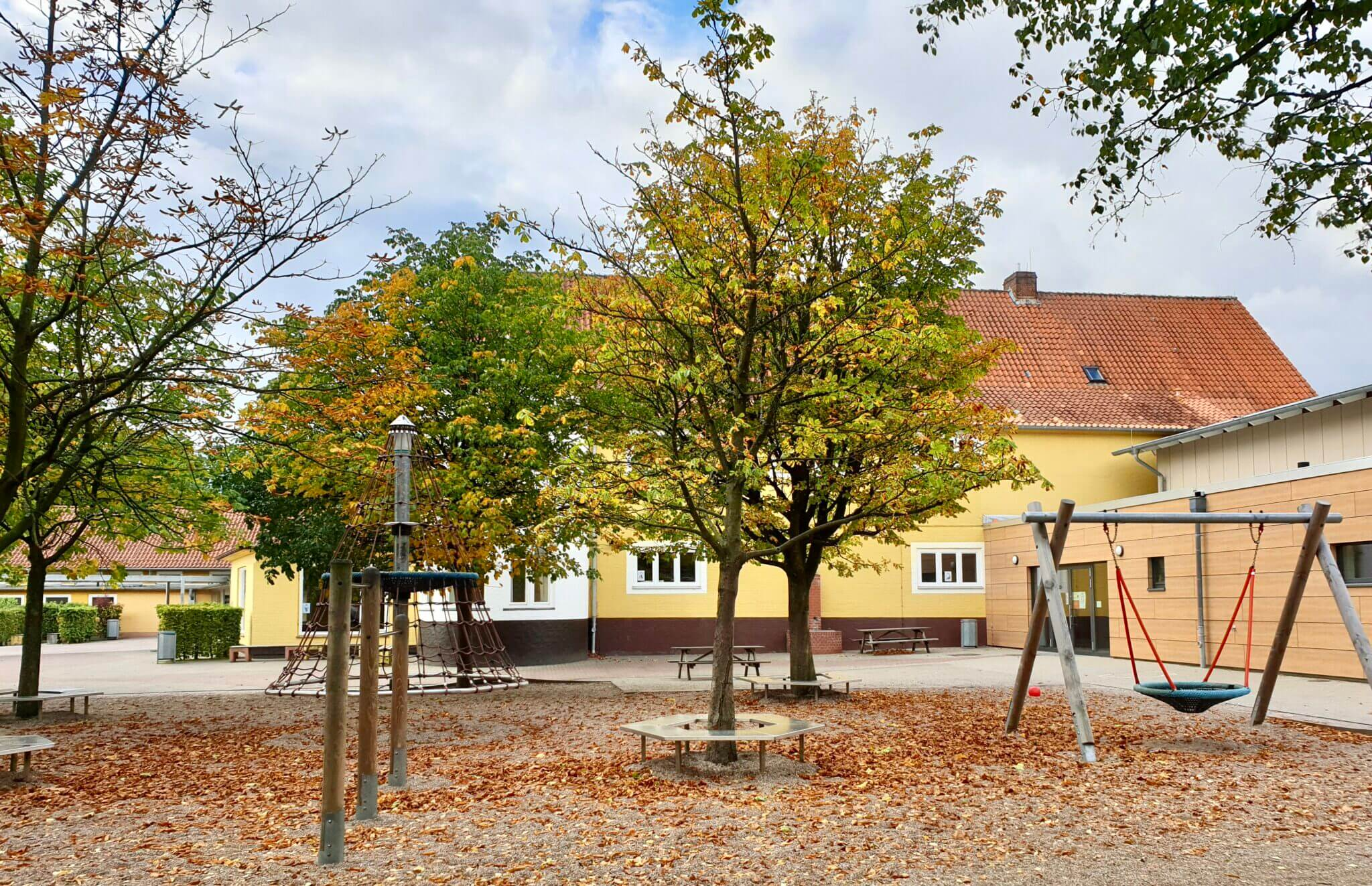 Die Grundschule am Hagen in Ahrensburg – Foto: Nicole Schmidt