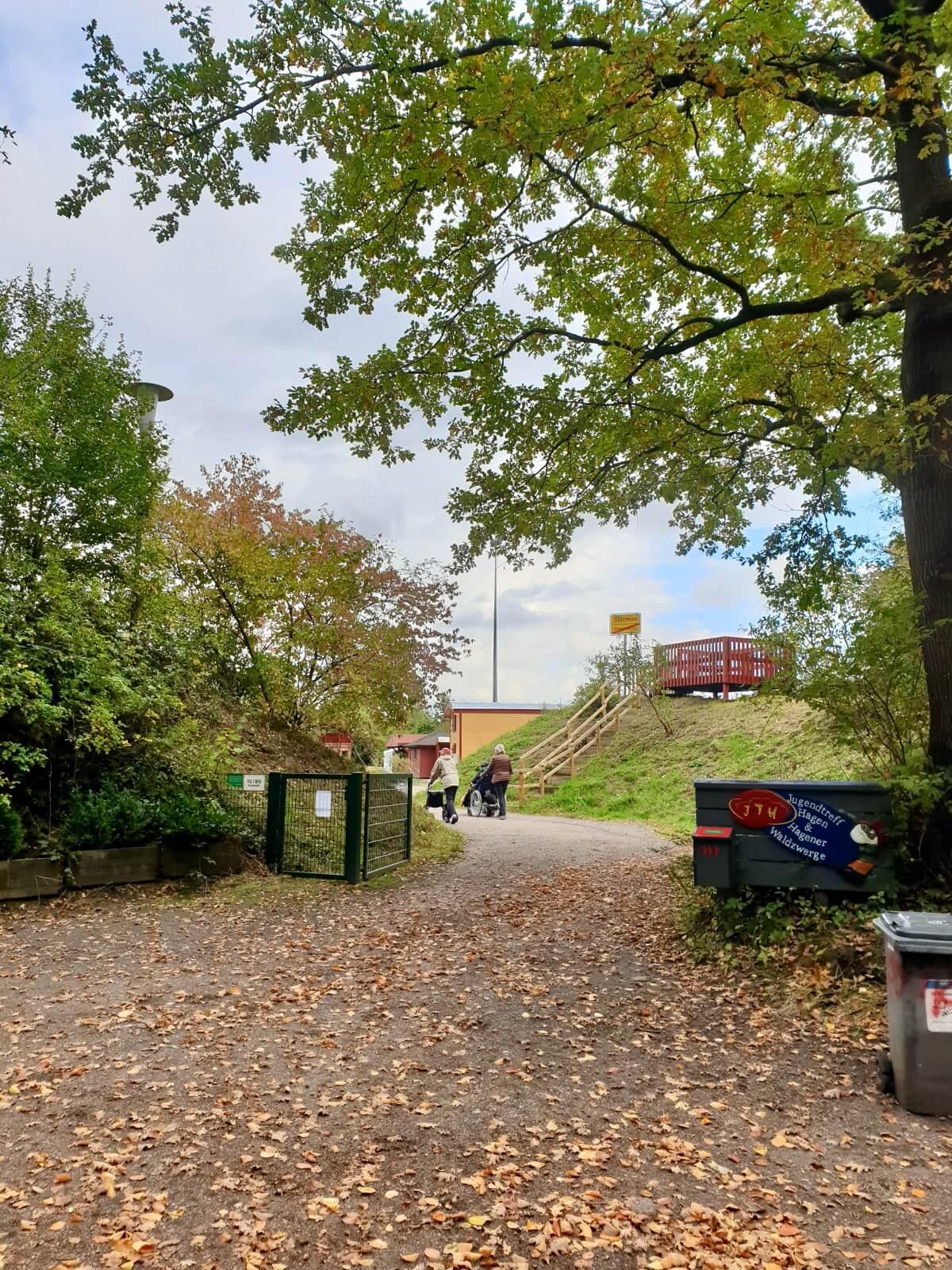 Der Jugendtreff am Hagen in Ahrensburg – Foto: Nicole Schmidt