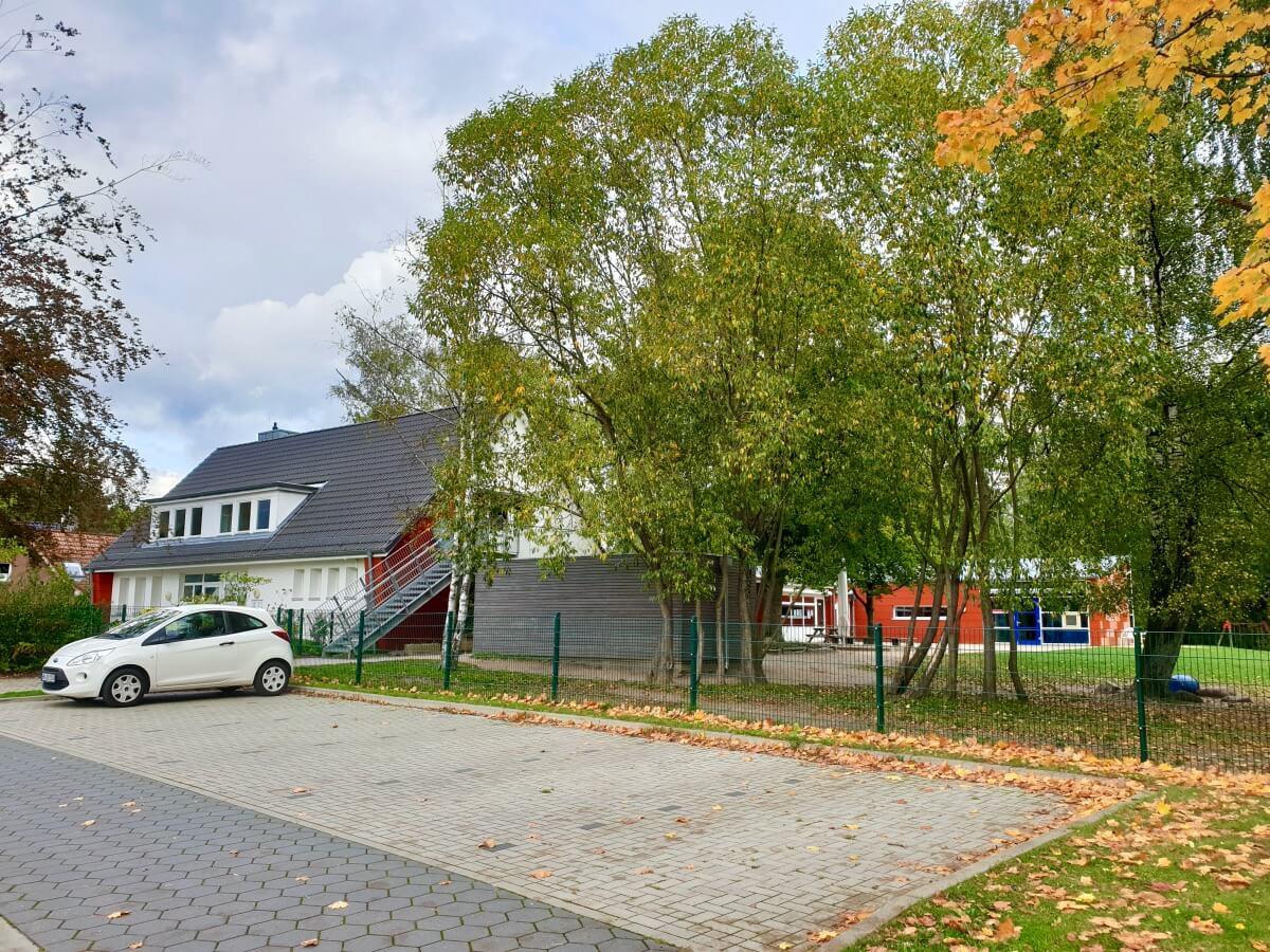 Die KiTa am Pionierweg in Ahrensburg –Foto: Nicole Schmidt