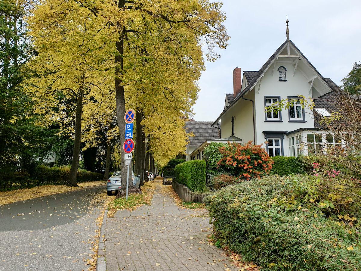 Villenviertel Ahrensburg, Bismarckallee – Foto: Nicole Schmidt