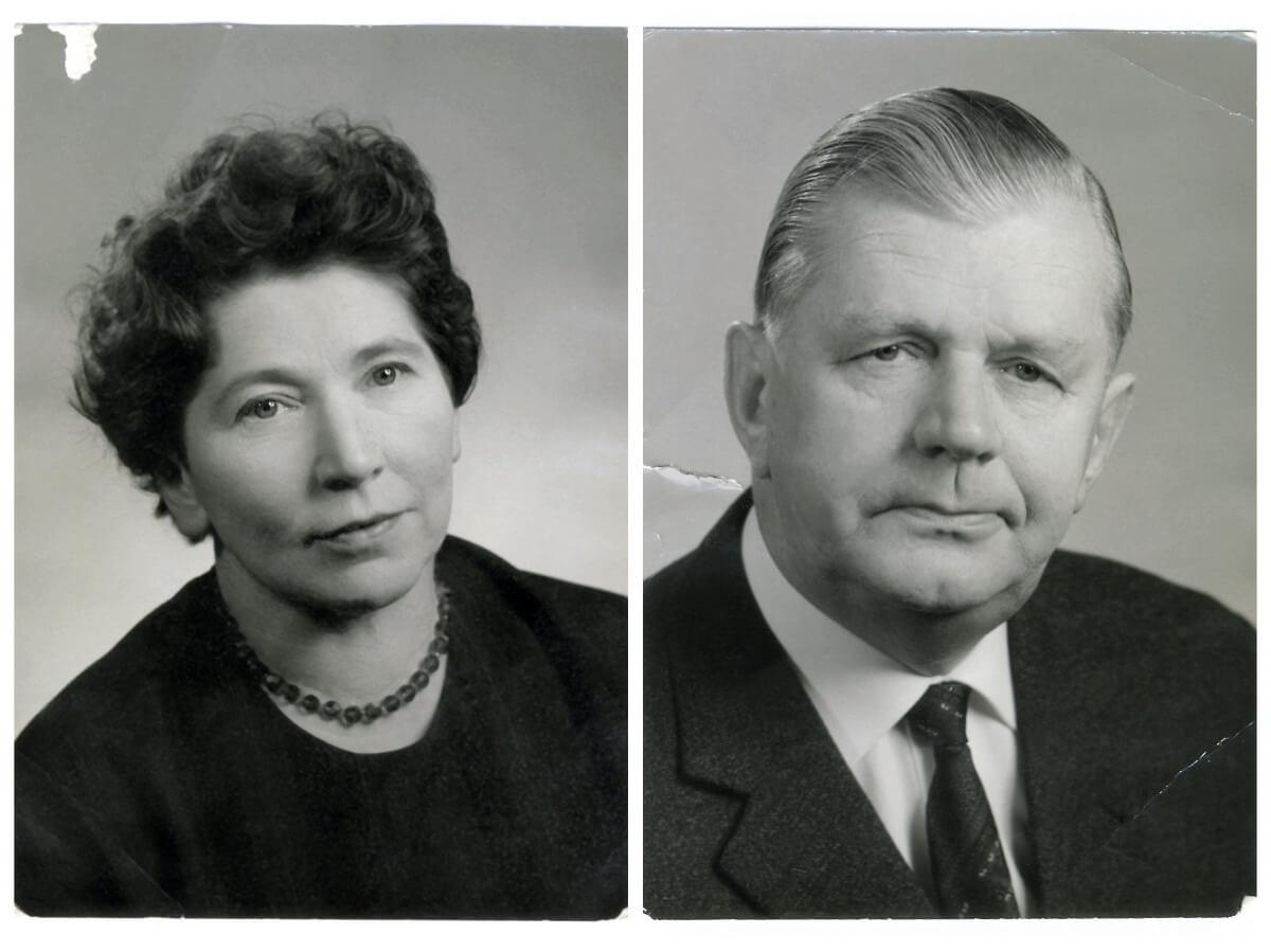 Die Firmengründer: Else und Heinrich Nessler